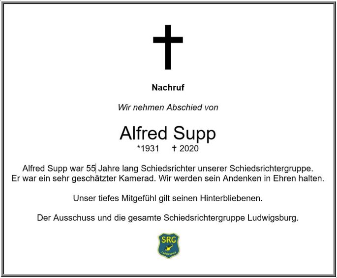 Alfred Supp